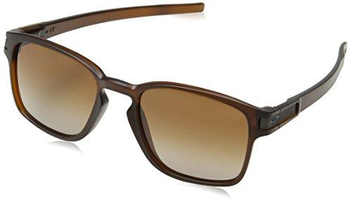 Oakley Sonnenbrille LATCH SQUARED - Schwarz (Matte Rootbeer) , Einheitsgröße