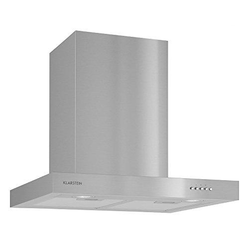 Klarstein Zarah Hotte aspirante (design ultra plat en acier inoxydable, filtre à...