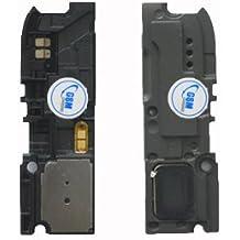altavoz antenas luchador zumbador para Samsung Galaxy Note 2 N7100 negro NUEVO!