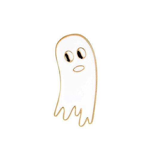 Karikatur-Geist-Katze-Vogel-nette Art-Tropfen-Öl-Broschen Badge Frauen-Mädchen-Kinder Kleidung Tasche Breastpin Brosche