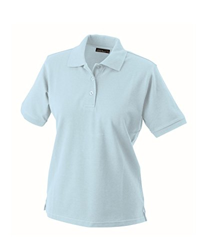 Hochwertiges Polohemd mit Armbündchen Classic Polo Ladies in light-blue Grösse: L (Polo Classic Ladies Blue)