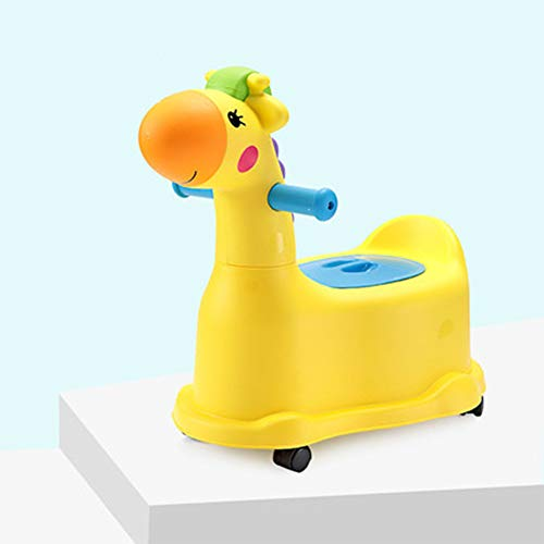 Vasetto Bambini Pipi, Che Può Essere Utilizzata come Una Macchinina, Sedia Vasino 3 in 1, Sedile per Toilette per Bambini
