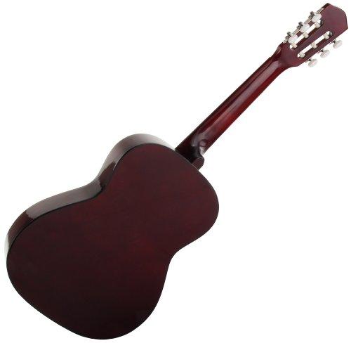 Classic Cantabile AS-851 4/4  Konzertgitarre Natur (Akustikgitarre , geeignet für Kinder im Alter ab 12 Jahren, Bundmarkierung, Nylonsaiten) - 2