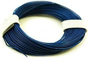 Litze 0 04 Mm 10 Meter Decoderlitze In 10 Farben Blau Spielzeug
