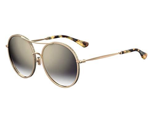 Jimmy Choo Sonnenbrillen (LENI-F-S J5GFQ) gold - gold glitzer - grau-blau verlaufend - verspiegelt