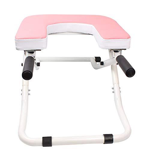 Wuxingqing-Sport Rückentrainer Multifunktions-Faltbarer Yoga-Umkehrungs-umgekehrter Maschinen-Schemel-Haushalts-Yoga-Kopfstand-Stuhl-Stand-Yoga-Stuhl for Familien-Turnhalle FALTBAR & TRAGBAR