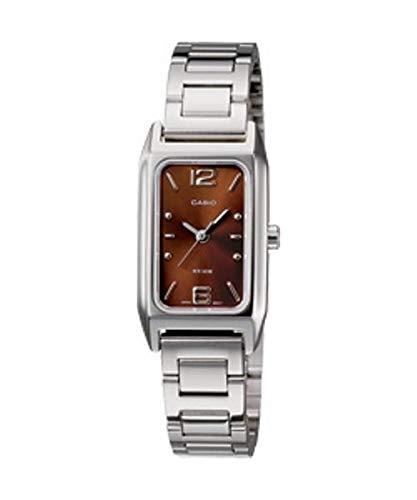 Colección de Casio para mujeres (muestra una modelo 2008) damas' Metal analógico 50 meter la resistencia al agua de reloj de pulsera reloj de pulsera # LTP-1291D - 5AV