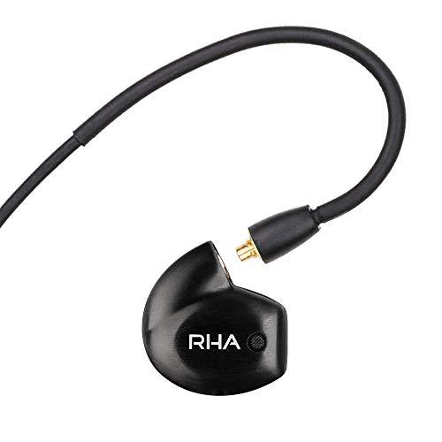 RHA T20 Wireless In-Ear Monitors: HiFi IEMs with Detachable Cable & Bluetooth Neckband (Kopfhörer-monitor Wireless)