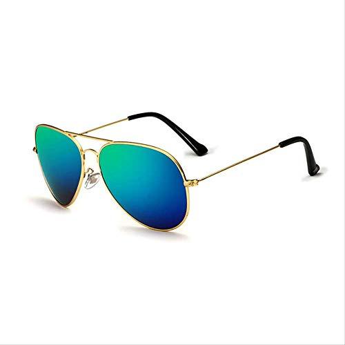 MJDL Klassische mode polarisierte sonnenbrille männer/frauen bunte reflektierende beschichtung objektiv brillen zubehör sonnenbrille stil 7