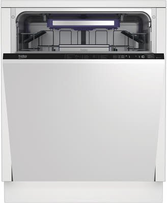 Beko Spülmaschine DIN38330, silber