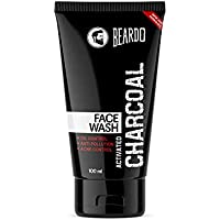 Beardo Activated Charcoal Anti-Pollution Face Wash for Deep Pore Cleaning, 100ml | Removes Dirt & Impurities | Suitable…
