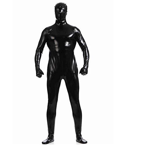 Alle Bunny Black Kostüm - GUAN Geklebte All-Inclusive-Strumpfhose Einfarbige gelatinierte Bühnenkostüme für Halloween