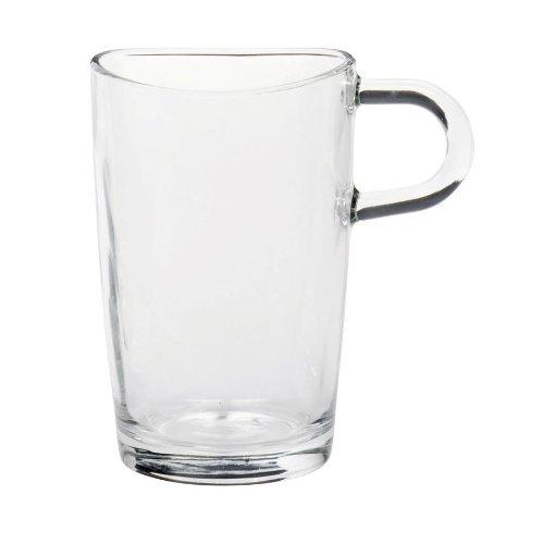 Leonardo Latte Macciato Glas mit Henkel *HOCHWERTIG*