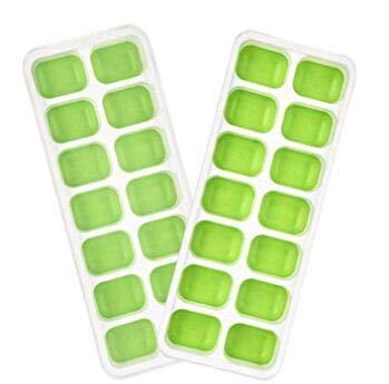 Sixlus Quadratischer Eis-Schuss-Glasform-Kuchen-Schalen-Form-Nahrungsmittelgrad-Silikon-Eis-Form -