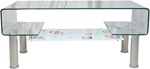 Maark MT26 Coffee Table (Transparent)