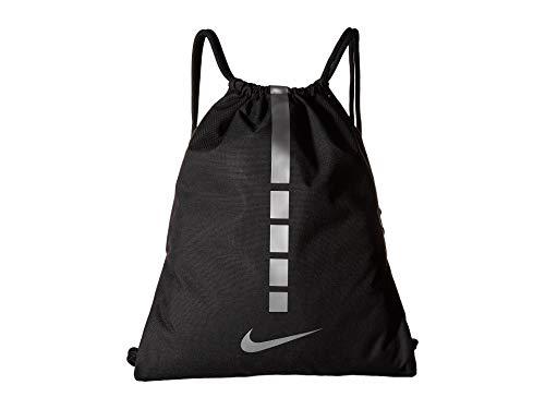 Nike BA5552 2018 Bolsa Cuerdas Gimnasio 45 cm, Negro/Gris