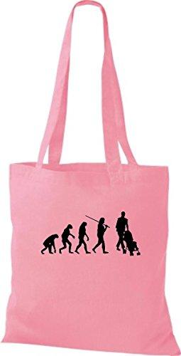 Camicia Di Stoffa In Tessuto Juta Evoluzione Papà Mamma Bambino Colore Diverso Rosa