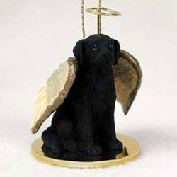 Christmas Ornament: Flat Coated Retriever by Conversation Concepts -