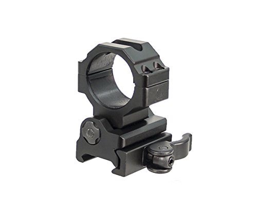 UTG TG 30mm Flip-to-Side, Picatinny/Weaver QD Ring Mount Lampenhalterung, Schwarz, One Size (Flip Leupold)