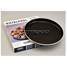 Whirlpool 480131000083Plato Crisp amw001Diam. 25cm parte inferior externa, 27cm parte delantera externa vip20-u 4801