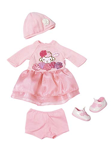 Zapf Creation 701966 Baby Annabell Deluxe Set Strick 43cm, rosa -