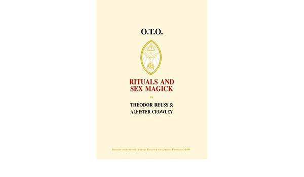 Oto rituals and sex magick pdf