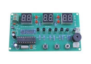 Bausatz für eine Digitale Uhr mit at89c2051 Chip