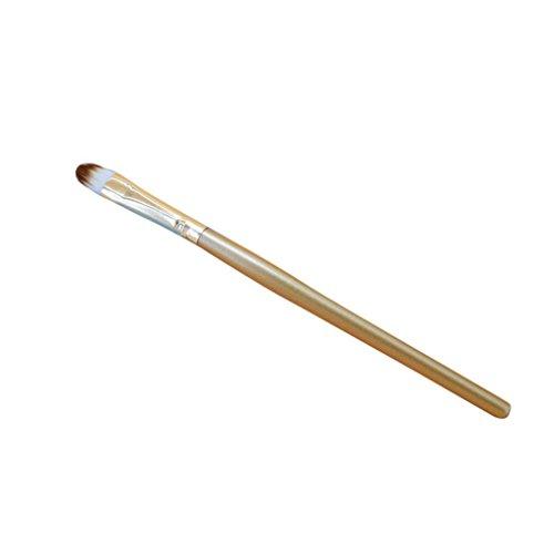 Pro Makeup Kosmetik Pinsel Xinan Puder Fundament Lidschatten Kontur Pinsel Tool (❤️, Gold)