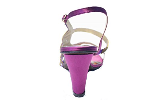 Wear & Walk UK , Sandales pour femme multicolore multicolore 36-42 Violet