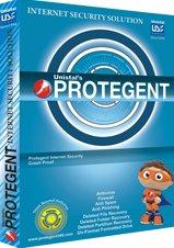 Protegent Internet Security Antivirus 1 User 1 Year, Firewall, Anti...