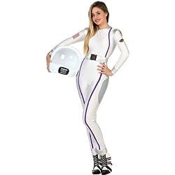 Atosa Disfraz de astronauta para mujer, talla M/L (22990)