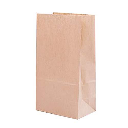 ftpapiertüten Braun Kraftpapier Klein Tüten Papiertüten Verpackungstüten für Adventskalender Ostern Geschenke Size 18 * 9 * 5.5cm ()