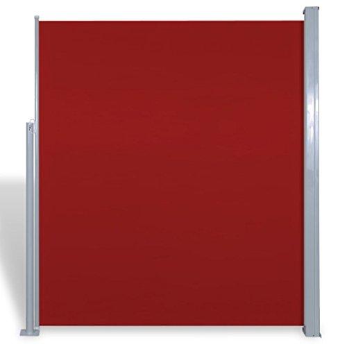 vidaXL-Patio-Terraza-Toldo-Lateral-180-x-300-cm-Rojo-Jardn-Contra-Sol