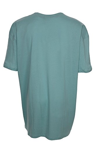 Kitaro T Shirt Herren Kurzarm Plusgröße Übergröße Mintgrün