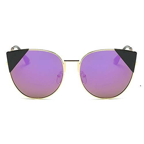 ADGJLI New Cat's Eye Sonnenbrillen Einzigartige Oversize Shield Gradient Vintage Brillengestelle Sonnenbrillen Female