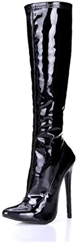 Bottes pour Femmes Super Hauts Talons Bottes Pointues Beaux Beaux Beaux Talons Bottes Sexy KnightB07H34J655Parent 239d73