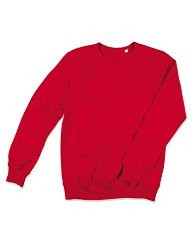 Sweat Femme à cou rond Pullover Active Sweatshirt Crimson Red