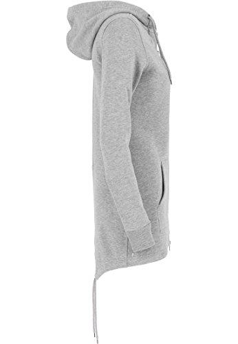 Urban classics pull parka veste pour femme Gris (Grau)
