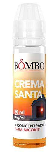 E-liquid BOMBO CREMA SANTA 50ml - TPD- crema pastelera
