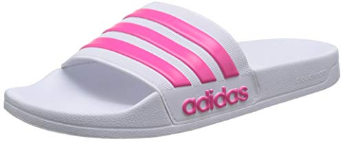 Adidas Adilette Shower, Herren Dusch- & Badeschuhe, Weiß (Blanco 000), 47 1/3 EU