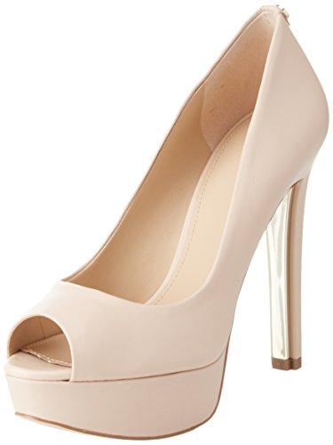 Guess Damen Footwear Dress Open Toe Plateaupumps, Elfenbein (Ivory BEIGE), 39 EU