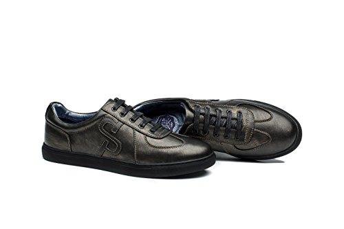OPP Basket Mode Classique Sneakers basses Mixte Adulte Bronzé
