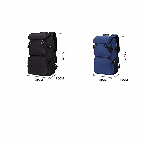TBB-Zaino borsa a tracolla impermeabile capacità grande borsa da viaggio,Kaki grandi Red Small