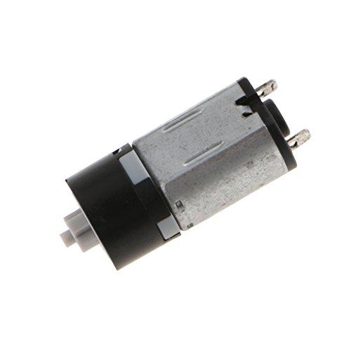 F Fityle DC Motor Getriebe Bürstenloser Motor DC-Motor 3V DC Motor Kugellager (1 Geschwindigkeiten-kugellager Motor)