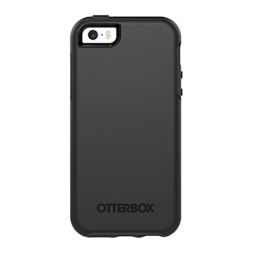 OtterBox Symmetry Series for iPhone 5/5s/SE - Retail Packaging - Black