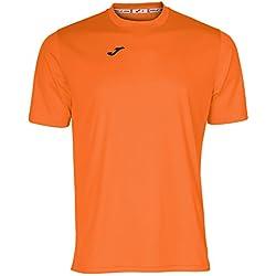 Joma Combi Camiseta, Hombre, Naranja, M