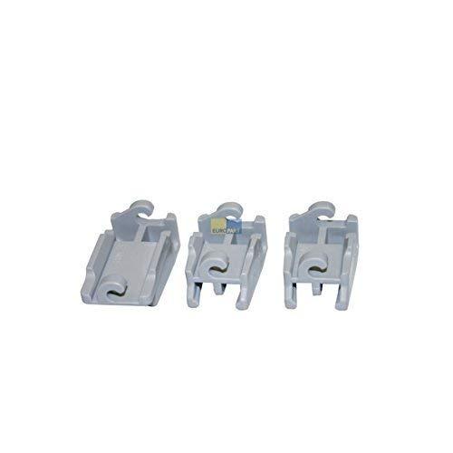 Bosch Siemens 418674 original Ensemble Roulement Pince Pince Fixation klappstachelreihe Panier supérieur Harnais Panier lave-vaisselle Convient également Source 02928612