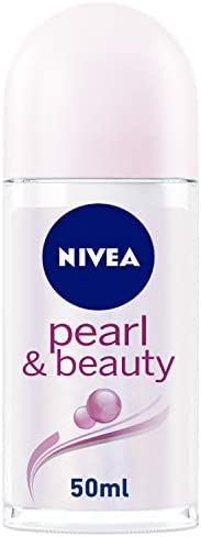 NIVEA Pearl & Beauty, Antiperspirant for Women, Pearl Extracts, Roll-on