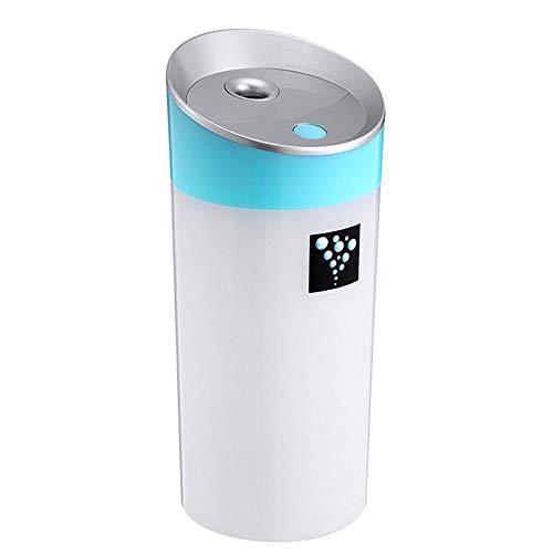 ALWIX 300 ml Ultraschall USB Mini Cup Luftbefeuchter Für Schlafzimmer Wohnzimmer Ultrafine Spray Droplet Moist Azure Azure-cup