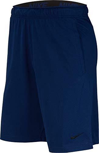 Nike Herren M NK DRI-FIT Cotton Shorts, Blue Void/Black, M (Herren Nike Drifit-shorts)